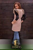 Пальто кашемировое безрукавка