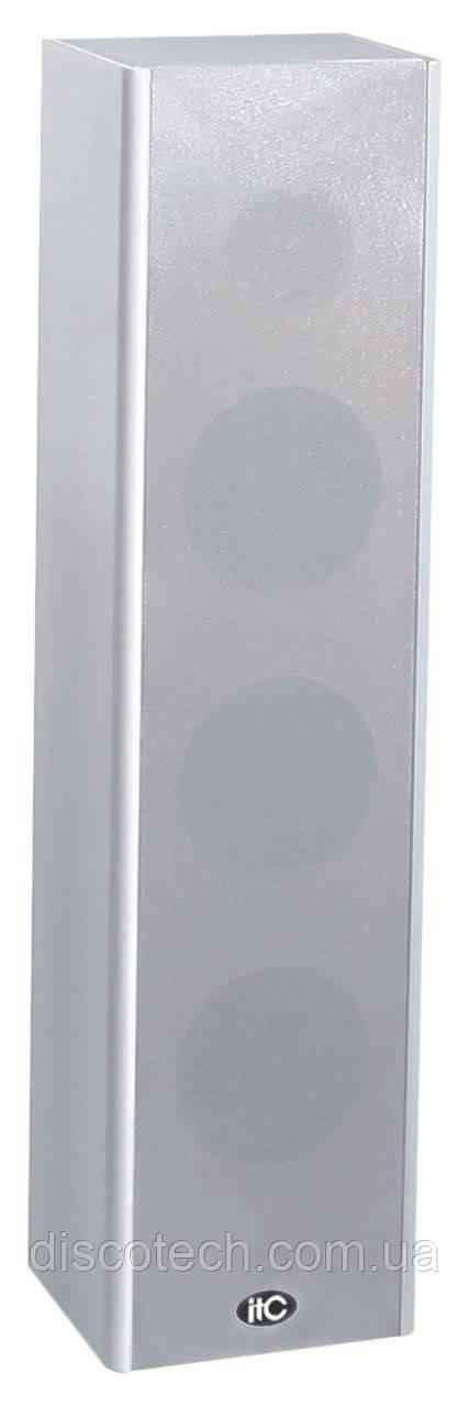 """T-303  - А/С трансляционная для помещений 100В 3шт*4"""" +1*2,5""""  30Вт ."""
