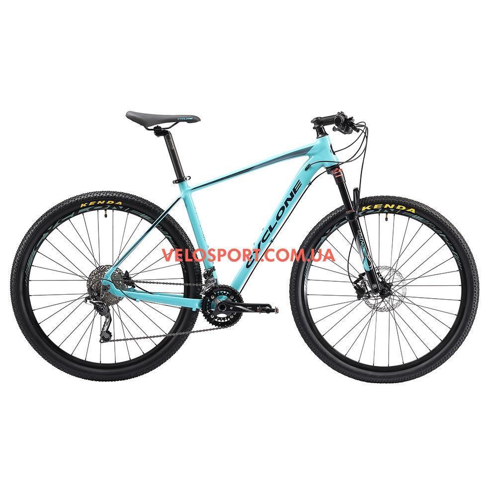 """Горный велосипед Cyclone SLX 29 дюймов 20"""" бирюза"""
