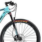 """Горный велосипед Cyclone SLX 29 дюймов 20"""" бирюза, фото 2"""