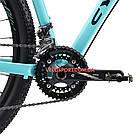"""Горный велосипед Cyclone SLX 29 дюймов 20"""" бирюза, фото 5"""