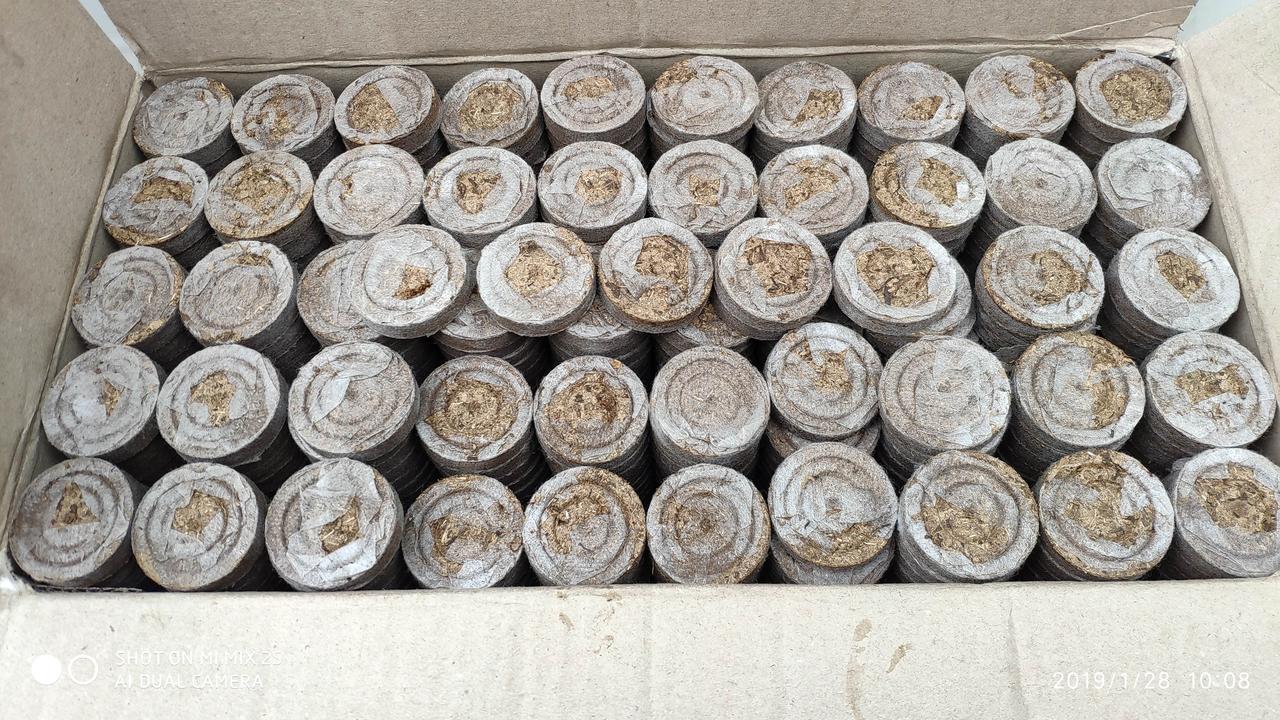 Торф'яні таблетки 41 мм Україна 328137