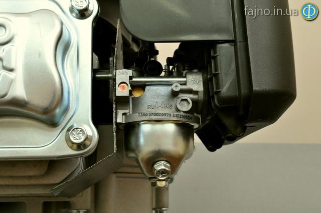 двигатель Sadko GE-200V с вертикальным валом фото карбюратор