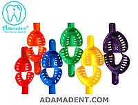 Оттискные ложки перфорированные пластиковые (12 шт. в наборе)