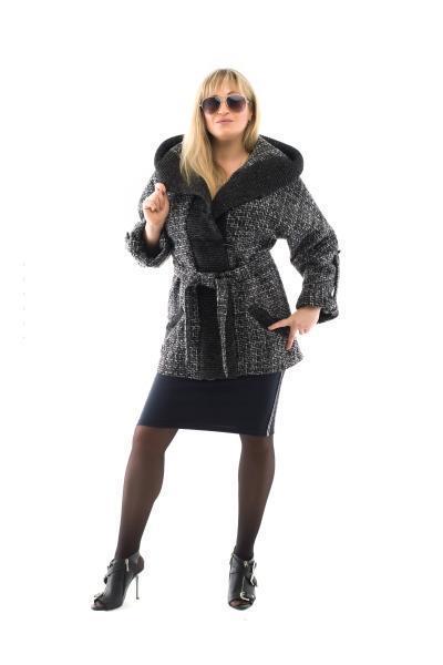 Женское пальто весна  модное 42-50 меладжевое