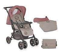 Детская коляска COMBI Beige&Terracotta + MAMA BAG