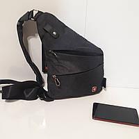 83445573867e Городской рюкзак Swissgear мини 7 л серый синий купить в магазине ...