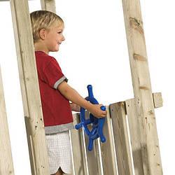 Штурвал для детской площадки. Цвет синий.