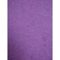 """Силиконовый текстурный коврик """"Цветочки с завитками"""" 57,5см на 38см"""