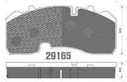 Колодки тормозные BPW 29165