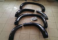 Расширители колесных арок на Toyota Prado 150, фото 1