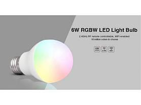 Светодиодная лампочка MiLight 6Вт RGBW, фото 3