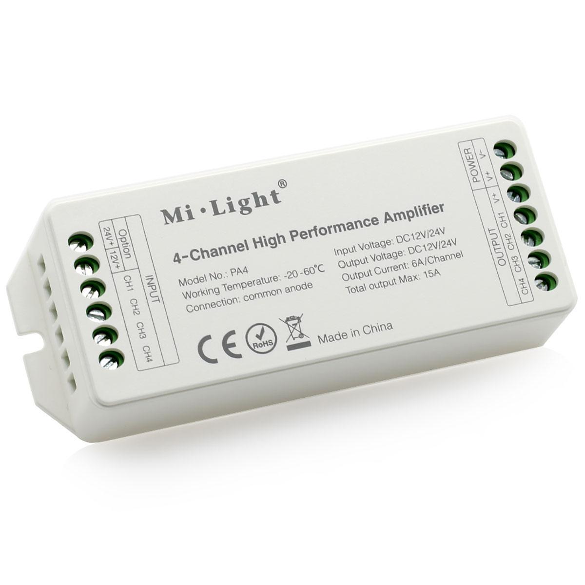 Высокопроизводительный 4-канальный усилитель Mi-Light