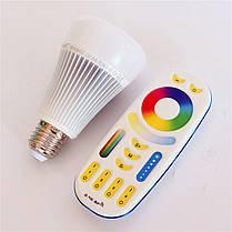 Светодиодная лампочка MiLight 8Вт DMX512 RGB+CCT, фото 3