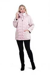Весна женские Куртки  молодежные  44-54   ( розовый )