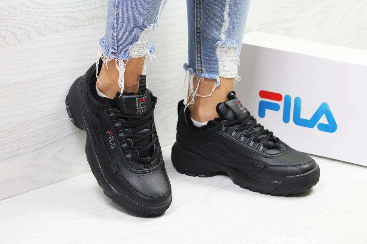 Кроссовки Fila 6335 черные