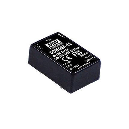 Блок питания Mean Well На плату 3 Вт, 0.125V, 12 А DCW03A-12, фото 2