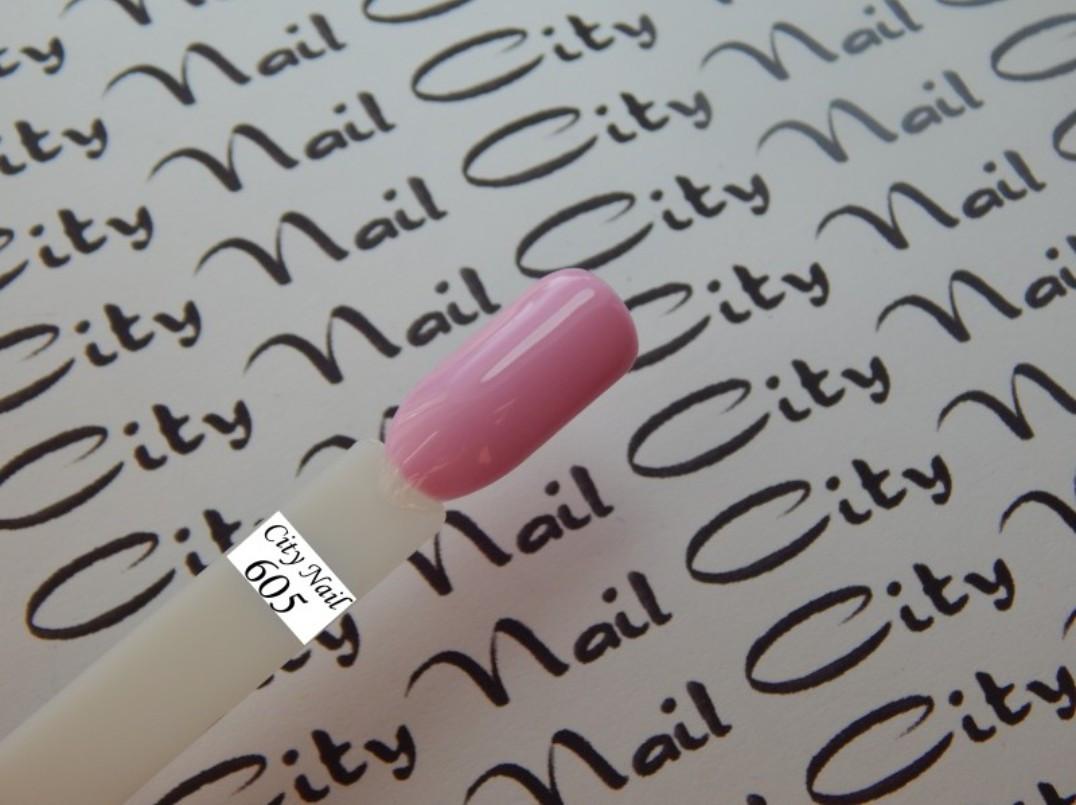 Гель-лак CityNail 605 сиреневый (розовый)