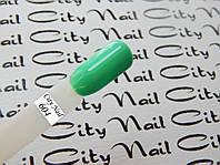 Гель-лак CityNail 604  мятный (бирюзовый, зеленый, салатовый)