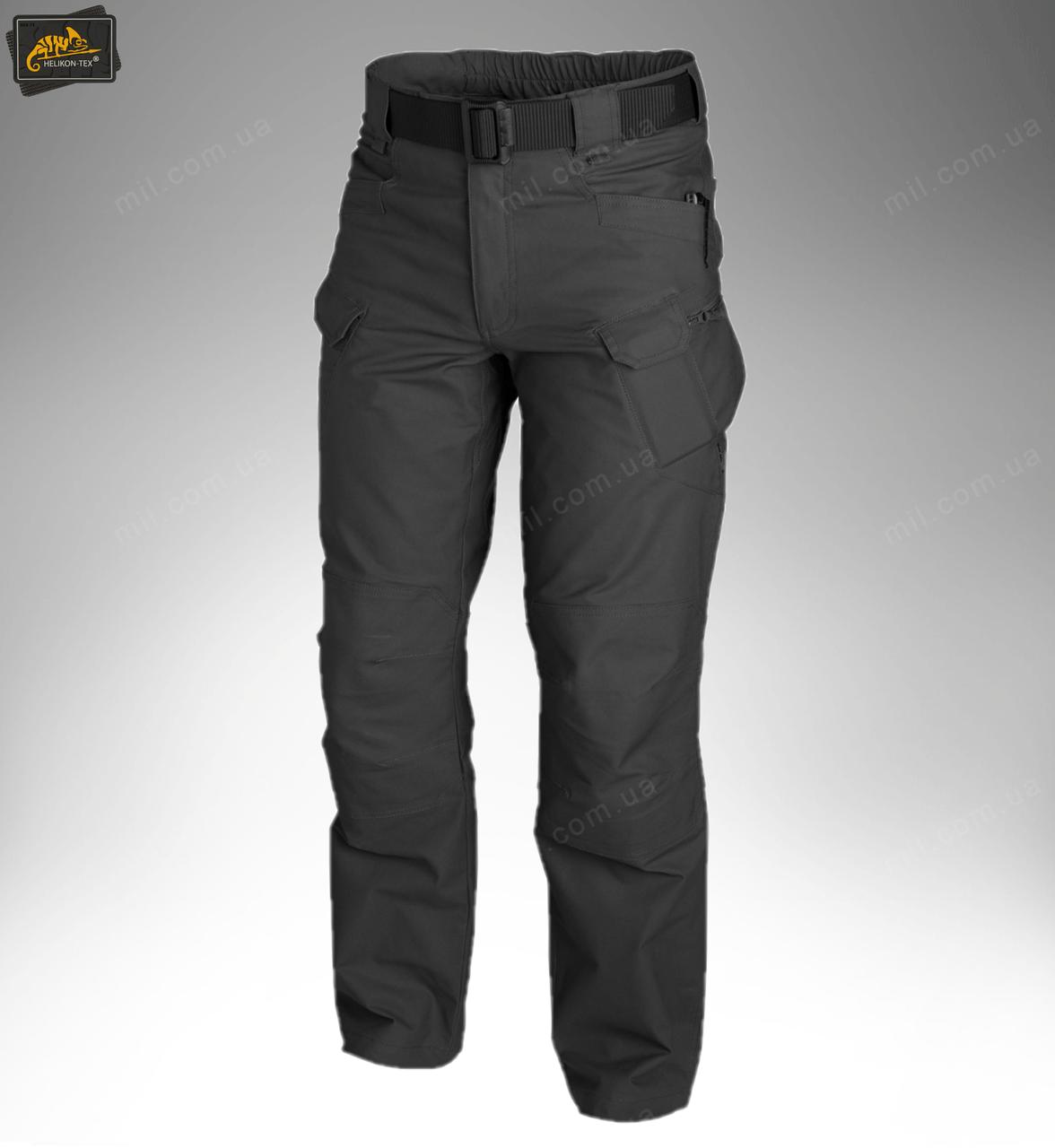 Тактические брюки / штаны Helikon Tex UTP Urban Tactical Pants black (черный)
