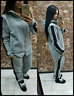Женский тёплый костюм с начёсом, фото 1