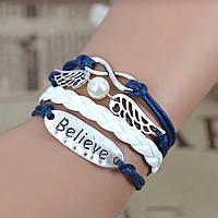 Плетеный браслет  hand made (вера)