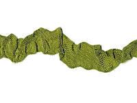 Шебби-лента, ширина 12 мм, 1 метр - Свежая оливка