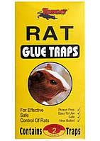 Клеевая ловушка от крыс и мышей желтая, упаковка 2 шт.