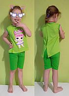 Комплект Лол, Футболка и шорты для девочки . Lol(Лол). 86,92,98-104.