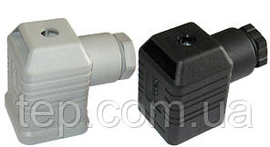 Роз'єм Hirschmann GDMW B12 для датчиків тиску/клапана Dungs/Kromschroder