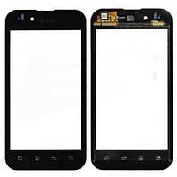 Тачскрин сенсор LG P970 Optimus черный с проклейкой