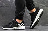 Кроссовки мужские Adidas ClimaCool,сетка,черно-белые, фото 1