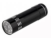 ТОВАР ИМЕЕТ ДЕФЕКТ! ЧТАЙТЕ ОПИСАНИЕ! Ультрафиолетовый светодиодный фонарик.Уценка! 589 Уценка! Черный