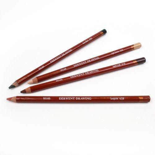 Олівець для малюнка Derwent 6220 Сангіна Drawing 636638006673