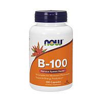 Комплекс витаминов B-100 (100 caps) USA