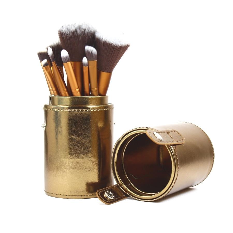 Набор кистей для макияжа в тубе NAKED2  12 в 1