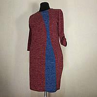 Женское платье большого размера осеннее 60 (54, 56, 58) для полных женщин батал №301