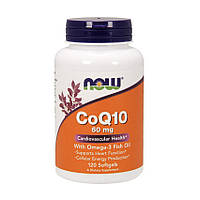 Коэнзим CoQ10 60 mg with Omega-3 (120 cap) USA
