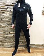 Мужской спортивный костюм Under Armour темный Реплика Отличного Качества, фото 1