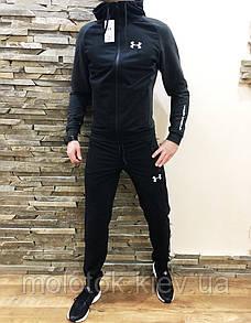 Мужской спортивный костюм в стиле Under Armour темный