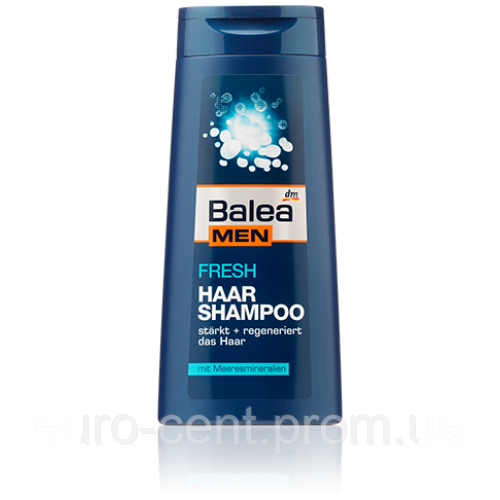 Шампунь мужской Освежающий Balea Shampoo Men Fresh