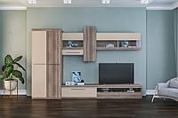 Комплект мебели для гостиной «Толедо» со шкафом Мир Мебели