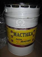 Мастика битумная (антикоррозионная) Master Bitum (ведро 16кг)