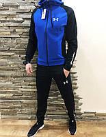 ... спортивный костюм Under Armour синий с черным Реплика f6f85e00f0938