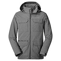 6cc13a7df83e5 Куртка Eddie Bauer Mens Atlas Stretch Hooded Jacket CHARCOAL HTR L Серая  (0049CHH-L