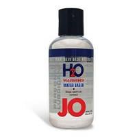 Лубрикант JO H2O Warming на водной основе без химических добавок, 135 мл
