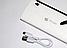 Портативний Power Bank Apple Ipower LED 30000 mah Зовнішній Повер Банк +Ліхтарик! 20000 епл Акумулятор заряджання, фото 6