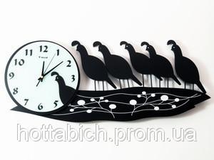 Часы настенные Птицы