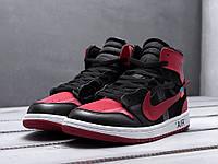 Мужские кроссовки Nike Air Jordan 1 X Off-White , красные. Код товара   e47b688a791