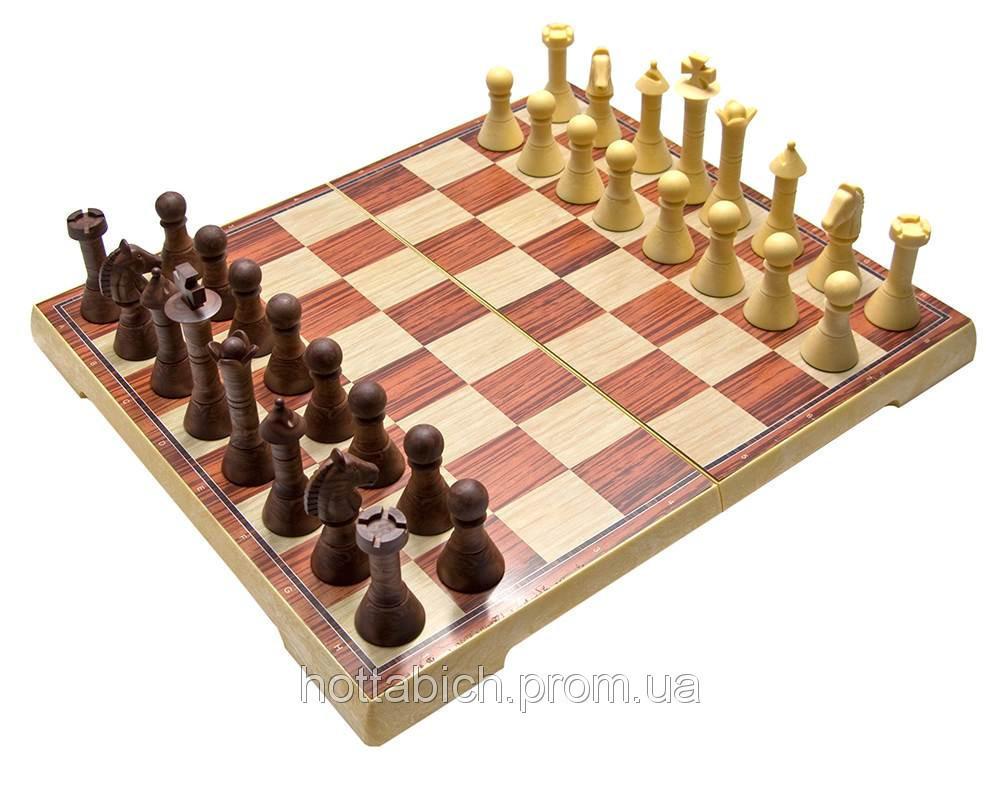 Шахматы магнитные из дерева